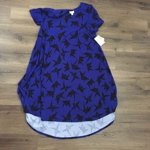 Origami Crane LuLaRoe Carly Large (14-16) Dress